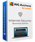 Captura de la caja de AVG Internet Security Business