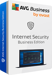 Boxshot Internet Security Business Edition sin sombra