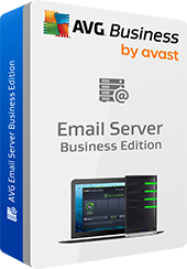 Boxshot Email Server Business Edition tanpa bayangan