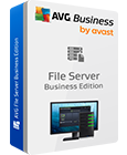 Captura de la caja de AVG File Server Edition