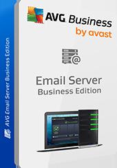 Confezione prodotto Email Server Business Edition senza ombreggiatura