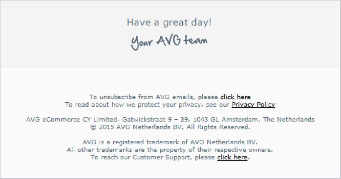 Newsletters par email