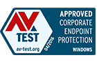 Premio de AV Test a la protección de terminales corporativos para Windows: aprobado, marzo de 2016