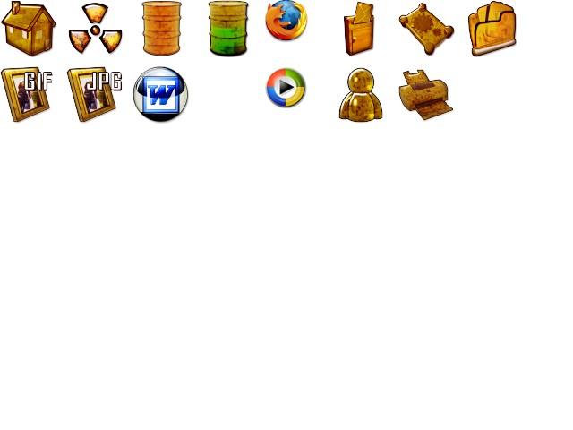 Pakiet ikon KD2