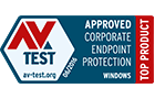 AV-test top product award for business