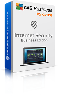 Boxshot Internet Security Business Edition met reflectie