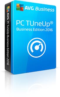 Boxshot PC TuneUP Business Edition met reflectie