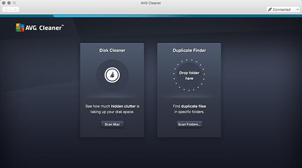 Cleaner für Mac– Dashboard