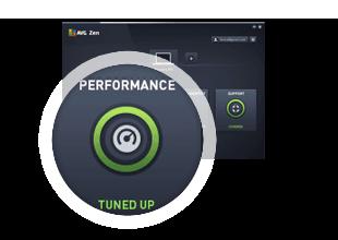 Passaggio 3 dell'installazione di AVG Performance: Ottimizzato