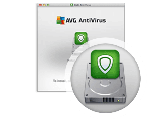 Installation step two - installing AVG AntiVirus for Mac