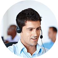 Man with headset