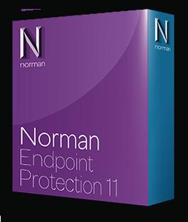 Boxshot Norman Endpoint Protection met schaduw