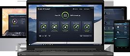 Leistungsüberblick, Geräte, Laptop, Mac, Mobiltelefon, Tablet, 269 x 117 px